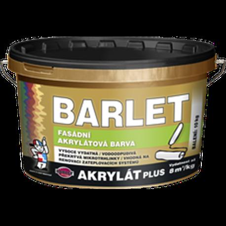 BARLET AKRYLÁT PLUS BÍLÝ 10kg