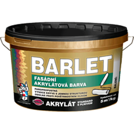 BARLET AKRYLÁT STANDARD S PLNIVEM 25kg