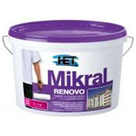 Het Mikral RENOVO fasádní barva 5kg
