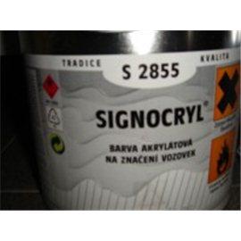SIGNOCRYL značení vozovek S2855 0100 bílá 4L