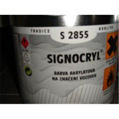 SIGNOCRYL značení vozovek S2855 0620 žlutá 4L
